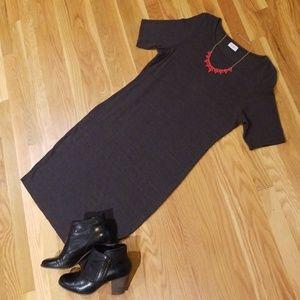 LuLaRoe Julia Dress, sz XL